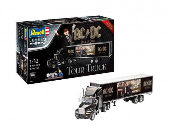 07453 kmw geschenkset ac dc tour truck