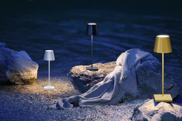 Nuindie Tischleuchte Lichtkonzept Kurtz