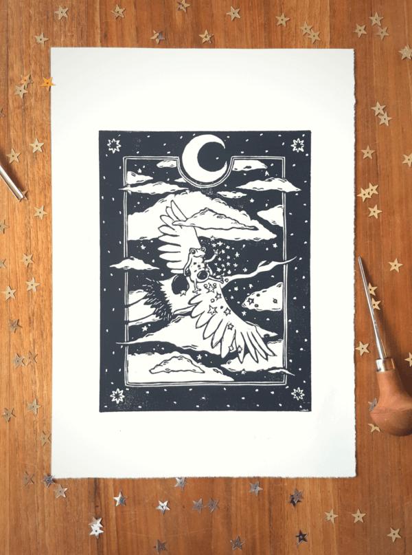 A ride through the night