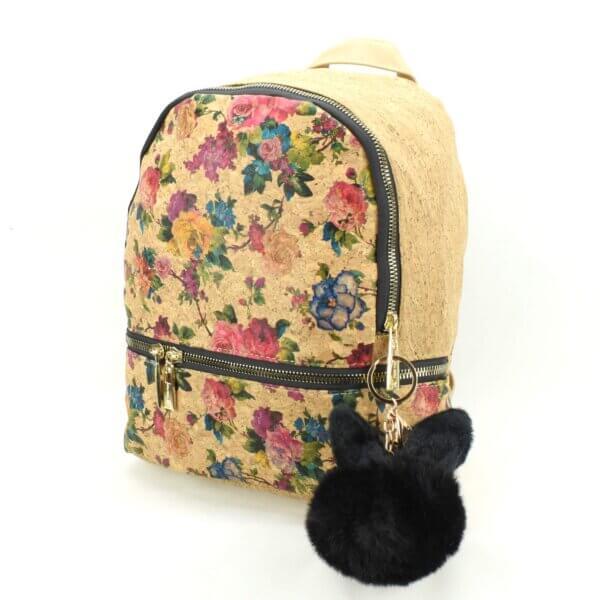 AK 126 Backpack M Flowers 2