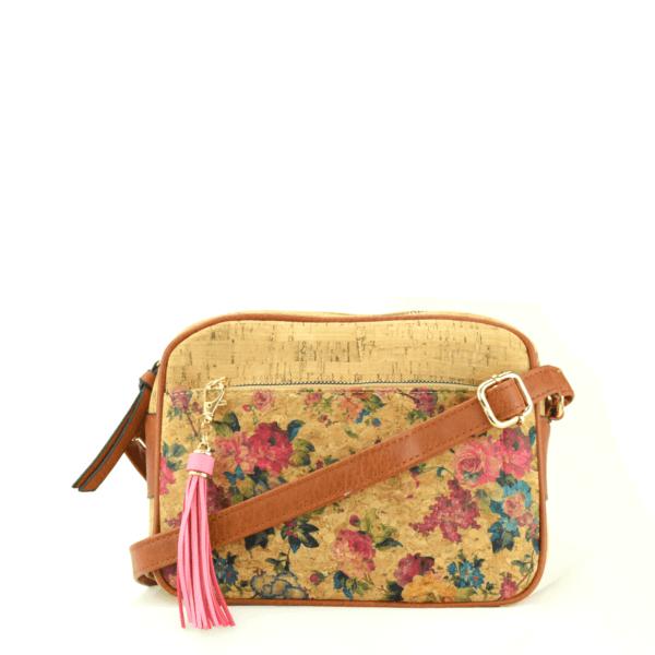AK 208 Shoulder Bag Pequeno Flowers 1