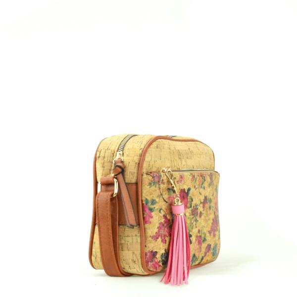 AK 208 Shoulder Bag Pequeno Flowers 2