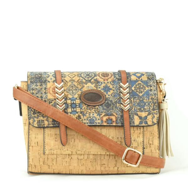 AK 213 Shoulder Bag Madeira Blue Mosaic 1