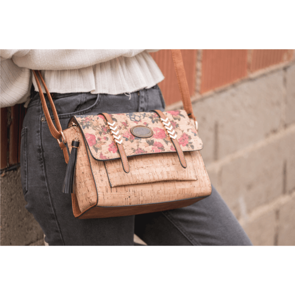 AK 214 Shoulder Bag Madeira Flowers 6
