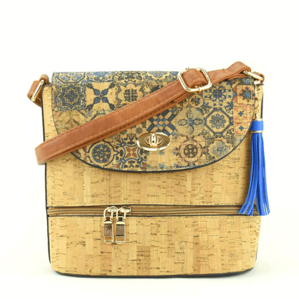 AK 215 Shoulder Bag Culatra Blue Mosaic 1