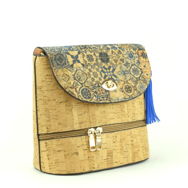 AK 215 Shoulder Bag Culatra Blue Mosaic 2