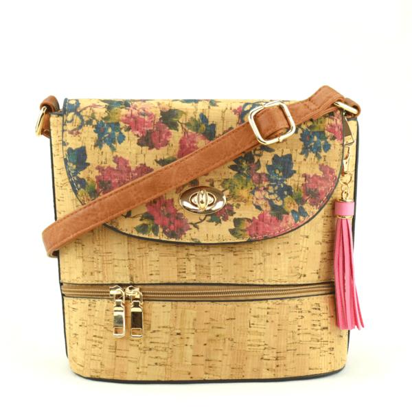 AK 216 Shoulder Bag Culatra Flowers 1