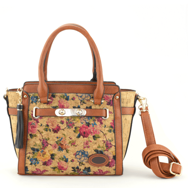 AK 220 Tote Bag Comprido Flowers 1