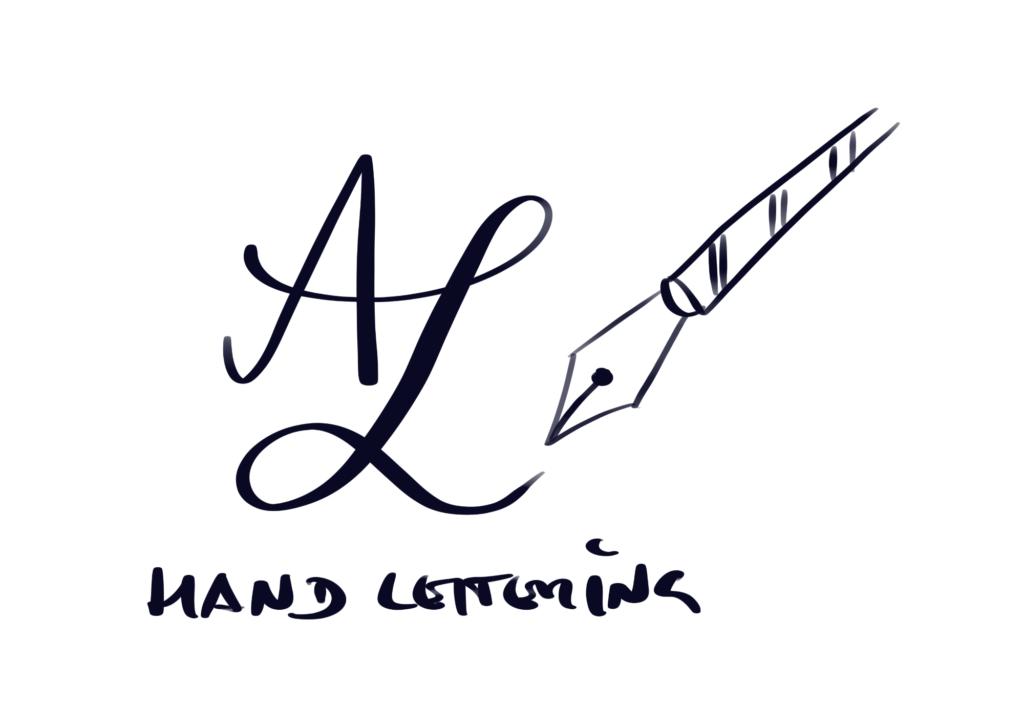 Logo Anja Langer Handlettering Füller