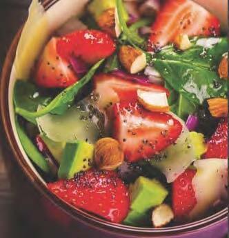 Avocado Öl Salat