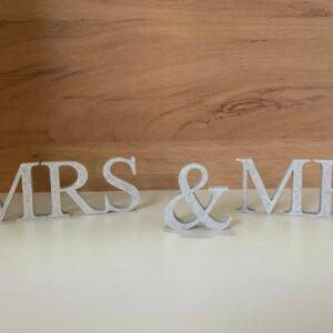 3D Druck Mrs & Mr Deko