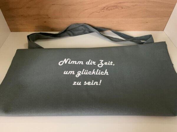 Individuell bedruckbare Tasche