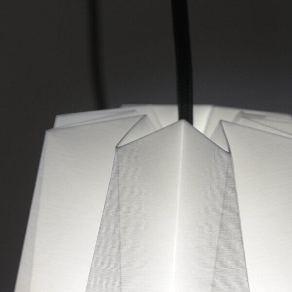 Detailansicht Haengeleuchte / Pendelleuchte Zuckerhut von Nachtfalter