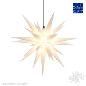 Herrnhuter Stern 68cm weiß-Lichtkonzept-Kurtz