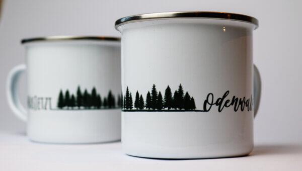 WasJetzt Odenwald Tasse Wald Motiv