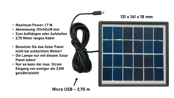 Solar Lampe56