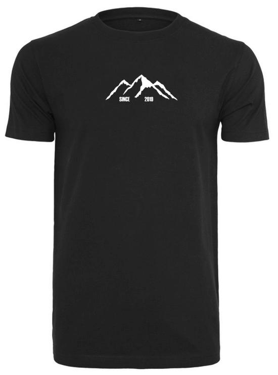 T Shirt Berge Schwarz