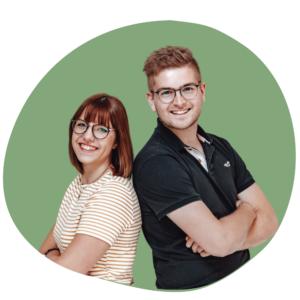 WasJetzt-Odenwald Ansprechpartner Theresa Bartmann und Sebastian Theobald