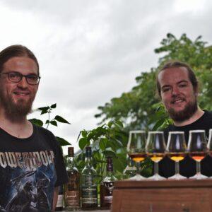 Whisky-Fakultät-Heidelberg Whisky Tasting Ansprechpartnerbild Stefan Mayer & Sebastian Blänsdorf