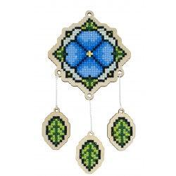 deimantines mozaikos rinkinys ant fanero wwp409