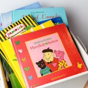 Buchpaket mir Bilderbüchern für Kinder