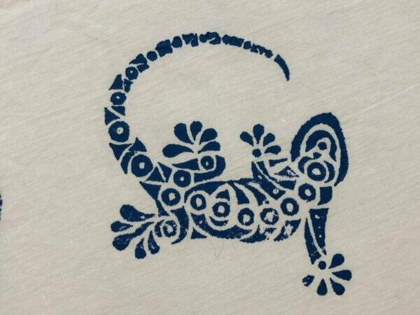 gekko gedruckt
