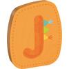 haba holzbuchstabe J orange