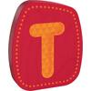 haba holzbuchstabe T rot