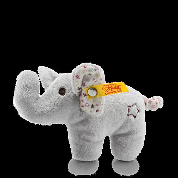 mini knister elefant mit rassel 240690