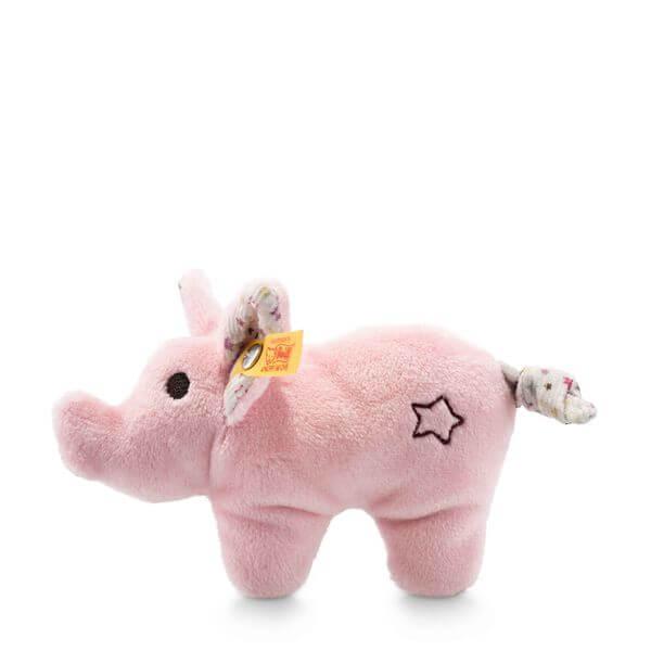 mini knister schwein mit rassel 240652