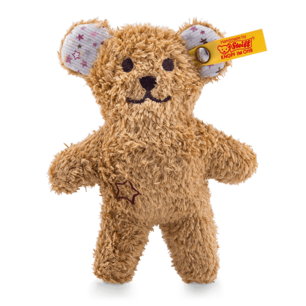 mini knister teddybaer mit rassel 240669