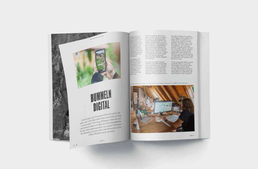 my odenwald magazin printausgabe wasjetzt odenwald