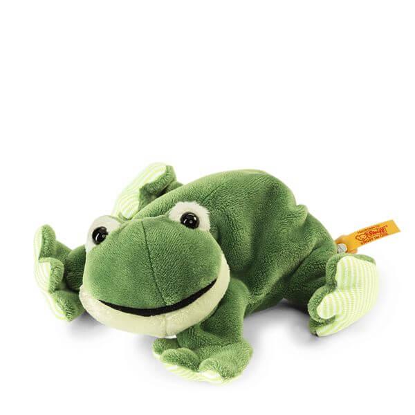 steiffs kleiner floppy cappy frosch 281235