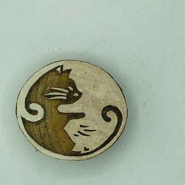ying und yang katze