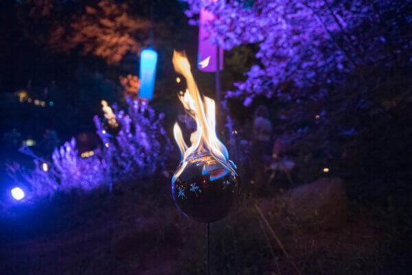 Traumnacht Feuer-Deko